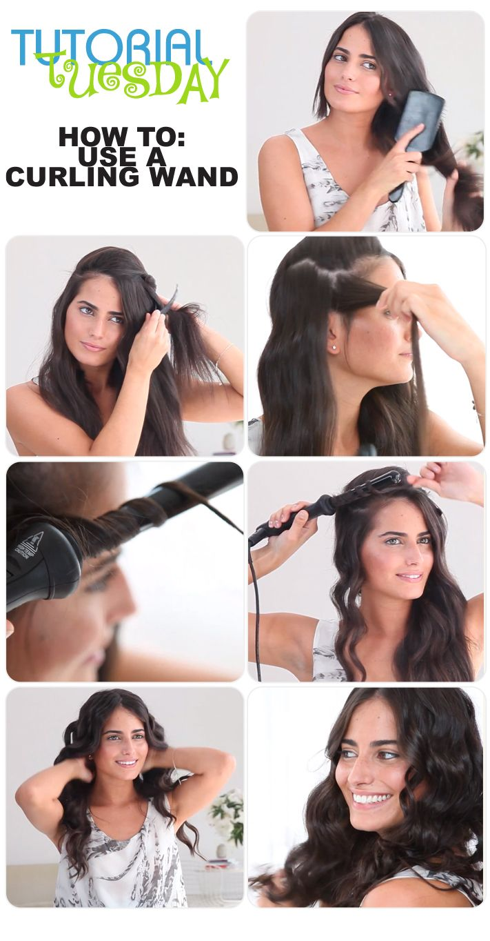 Tutorial Tuesday – Use a Curling Wand
