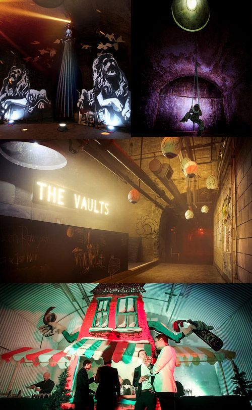 The Vaults Waterloo A Curious Invitation