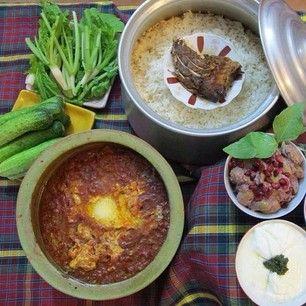 Baghali ghatogh in Gamaj ^__^ <3 northern Iranian food, Gilan