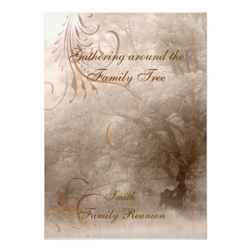 20 best family reunion invitations images on Pinterest Family - invitations for family reunion
