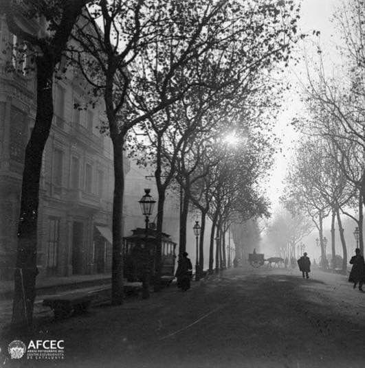 Barcelona, Pg de Gracià 1905.