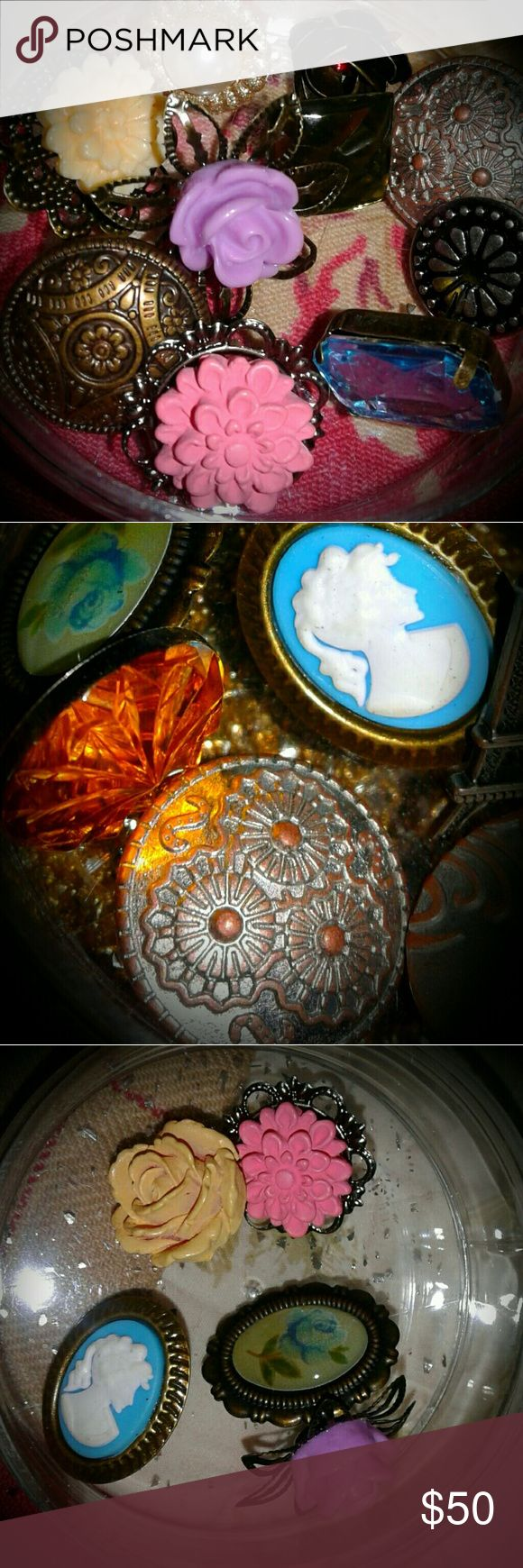 Victorian style Buttons and Appliques A wonderful assortment of buttons and other appliques used for crafts and sewing. There is also a vial of gold glitter. The pieces are secured in 4 clear plastic vials that seal together as 1 tower. All bought from Hobby Lobby. hobby lobby Other