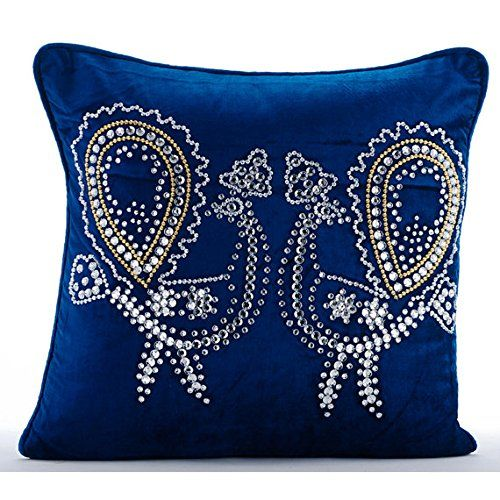 Blue Throw Pillows Cover Couch, Crystal Dancing Peacock B... https://www.amazon.com/dp/B00VDDL9IU/ref=cm_sw_r_pi_dp_x_JwhLybSWRZFY7