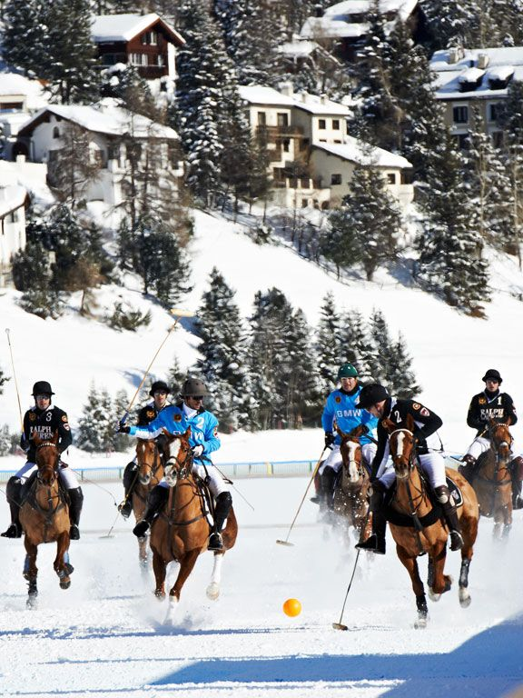 Photos from the Snowy St. Moritz Polo World Cup in Switzerland #baselshows
