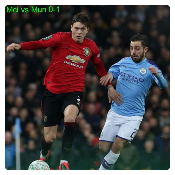Manchester City Vs Manchester United 0 1 Highlights Download Video In 2020 Manchester United Man Of The Match Manchester City