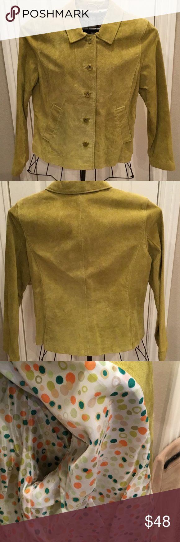 Like new David Brooks suede jacket size 14 Like new David Brooks suede jacket size 14, button front, fully-lined. Comes from smoke-free, pet-free home. David Brooks Jackets & Coats Blazers