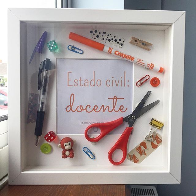 Regalos para los profesores. Idea regalo profe. Teaching gift ideas.                                                                                                                                                      Más