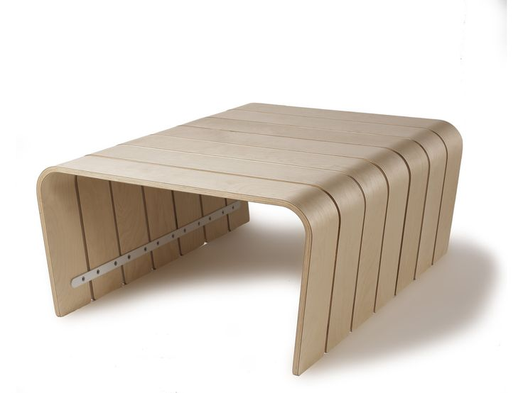 Big Rib Modular Coffee Table Maple Offi Inspired By Pork Ribs The Big Rib Table