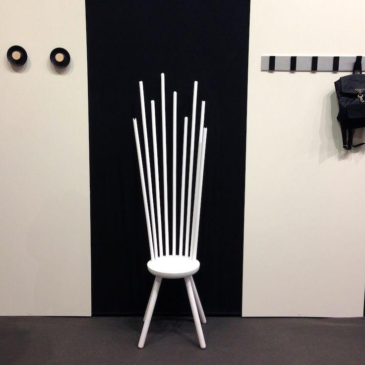 Maison&Objet January 2014//Hang Sitt stool by Danish brand Norrmade//flodeau