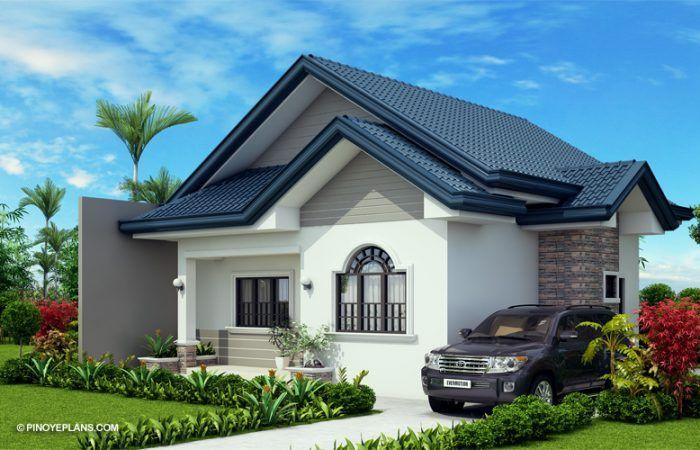 Obani Elegant Yet Affordable One Storey Single Attached Pinoy Eplans Beautiful House Plans Model House Plan Bungalow House Design