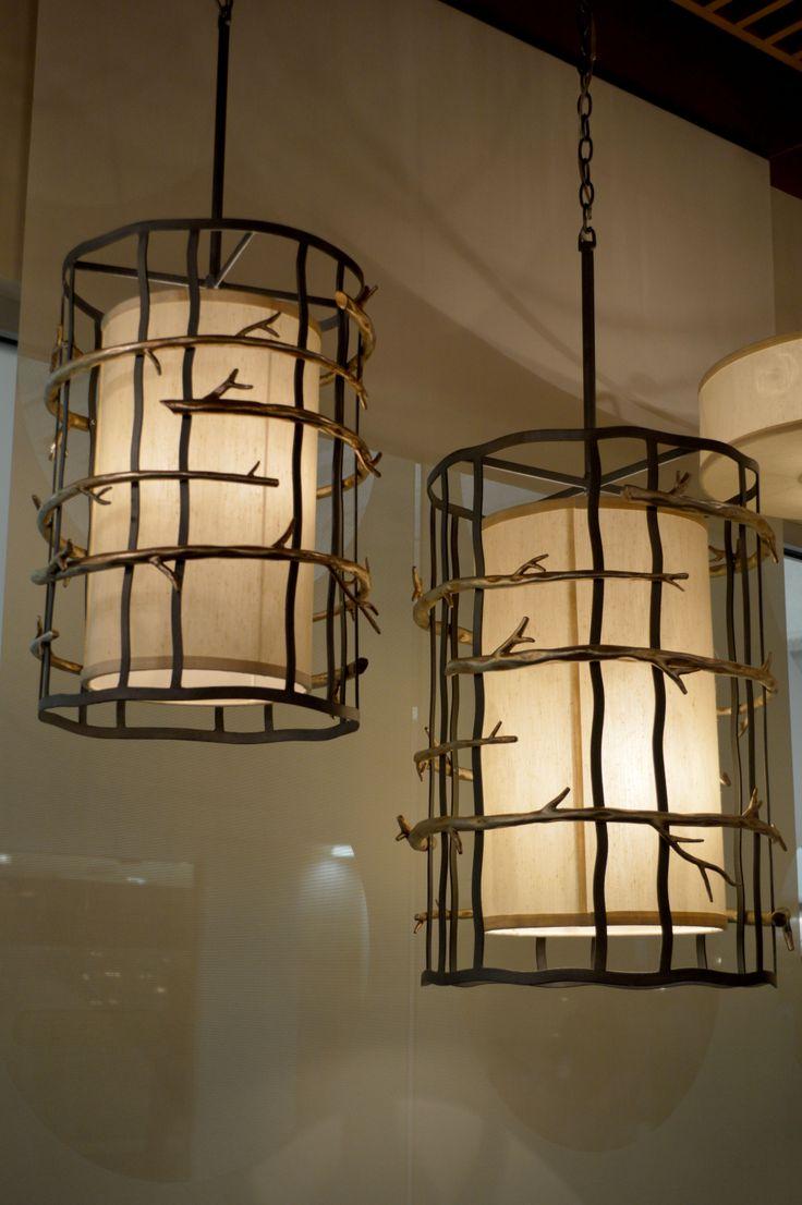 These troy lighting adirondack branch inspired pendant for Adirondack bathroom design