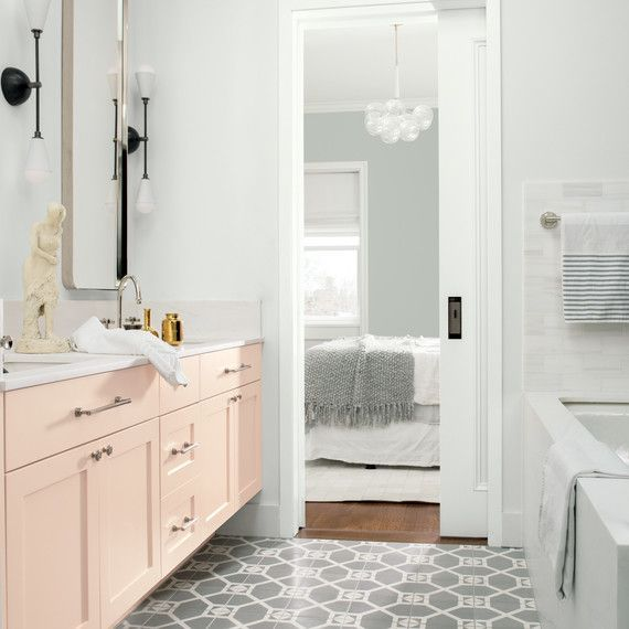 These Are The Most Popular Bathroom Paint Colors For 2019 Bathroom Paint Colors Modern Bathroom Decor Bathroom Colors