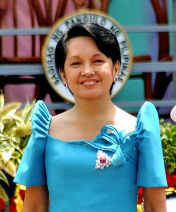Gloria Macapagal-Arroyo (born April 5, 1947) is a Filipino politician who served as the 14th President of the Philippines from 2001 to 2010, as the 12th Vice President of the Philippines from 1998 to 2001, and is currently a member of the House of Representatives representing the 2nd District of Pampanga. She was the country's second female president, after Corazón Aquino.