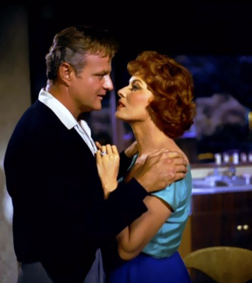 Brian Keith and Maureen O'Hara in 'The Parent Trap'. Mr. Keith was probably my first crush - before I knew what crushes were!