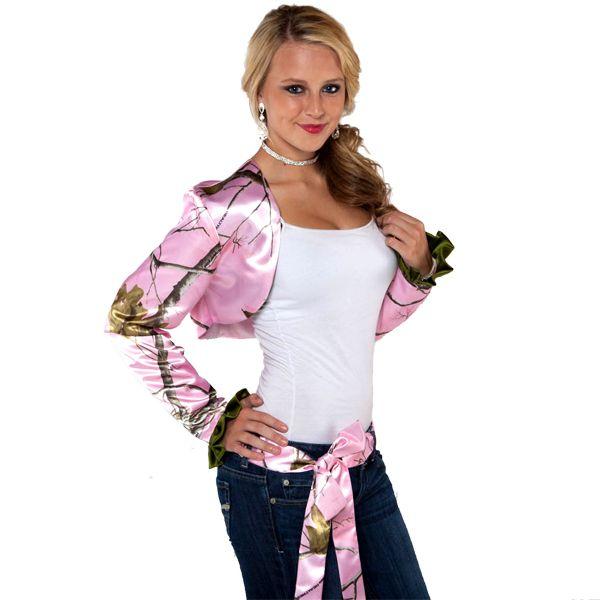 Pink Camo Wedding Sash
