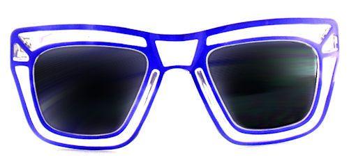 Loud & Clear Wayfarer Sunglasses - 297 Purple