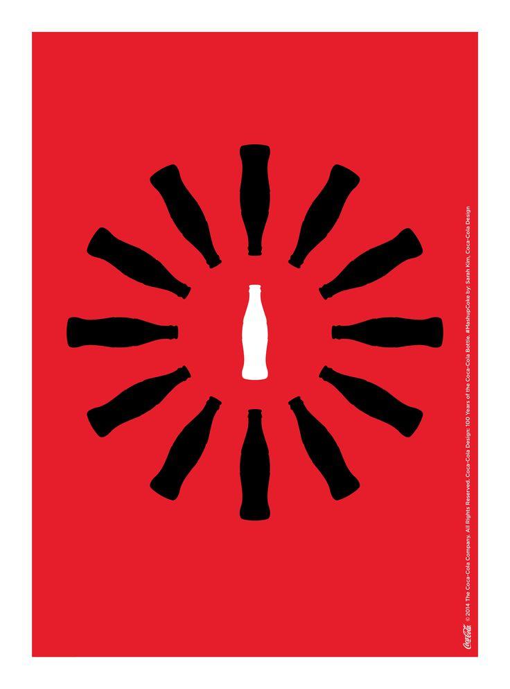 Kiss The Past Hello. Coca-Cola Design: 100 Years of the Coca-Cola Bottle. #MashupCoke by: Sarah Kim, Coca-Cola Design