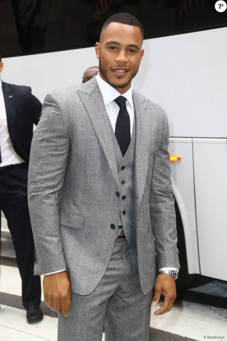 Trai Byers - People à la soirée Saks Fifth Avenue pendant la fashion week de New York le 12 septembre 2015.