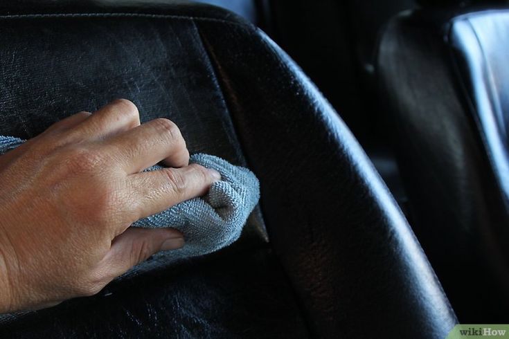 7 Ways to Clean Car Upholstery - wikiHow