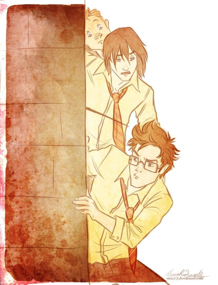 I solemnly swear I am up to no good.    what are you doing,Prongs? by *viria13 on deviantART