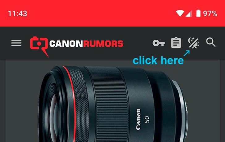 We've added a dark theme to canonrumors com | Kona Nature