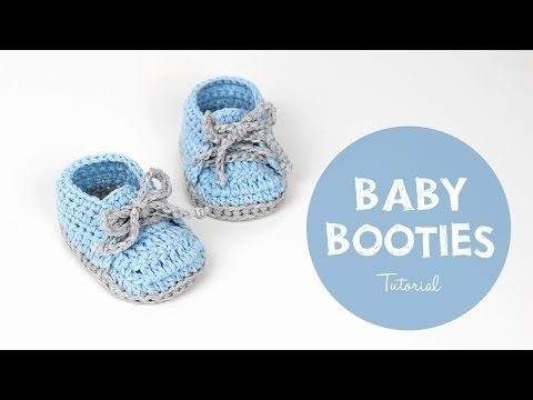 Very Easy Tutorial For Crochet Bootie Sole | Croby Patterns - YouTube