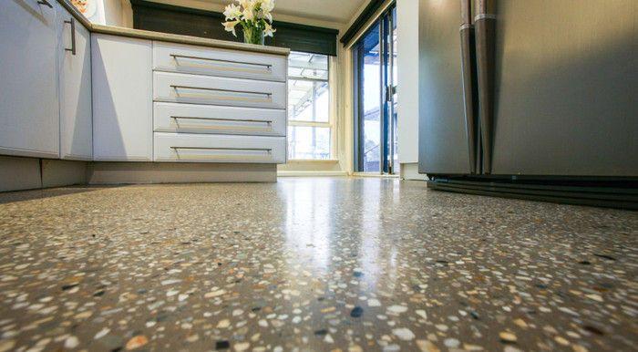 Polished Concrete Veneer Flooring
