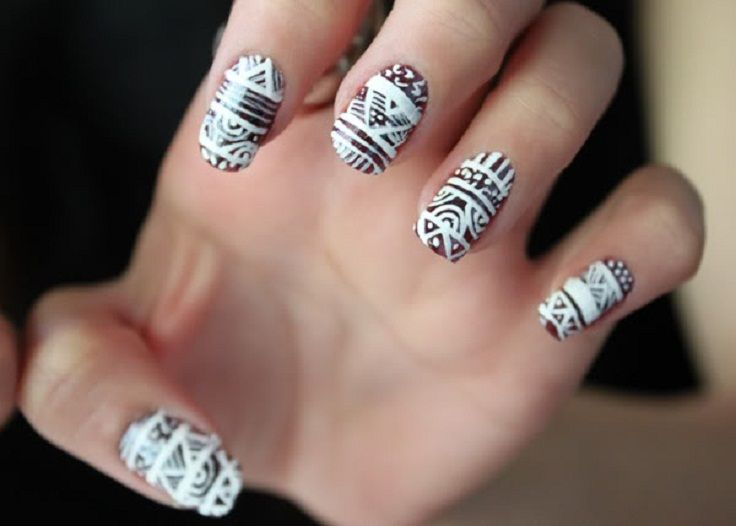 Perfect Top 10 DIY Winter Nail Art