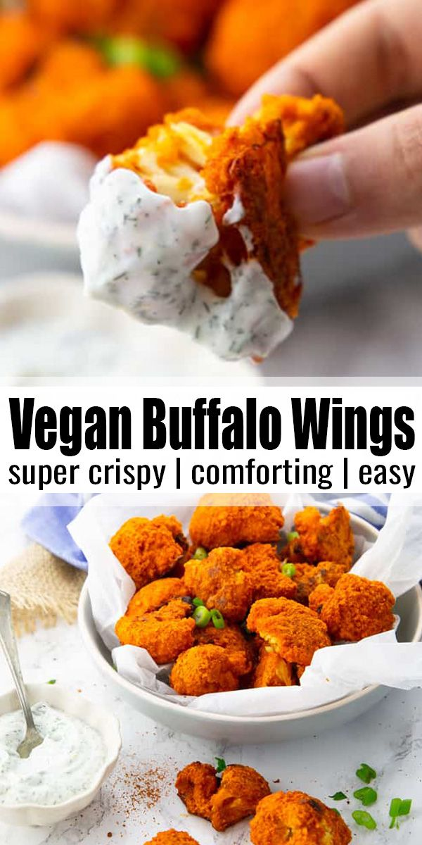 Vegan Buffalo Wings  – vegan