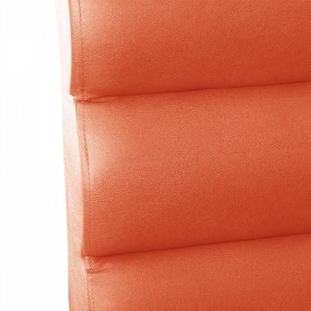 Sitzbank Dinerbank Bistrobank GALA orange 120 cm-Möbel-Star