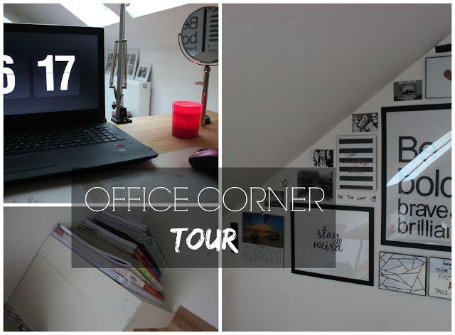 Crazy in Life: OFFICE CORNER TOUR