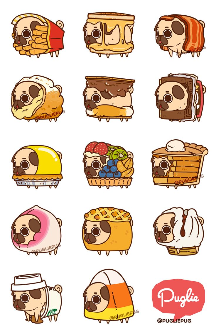 Puglie Food Series 4! Previous Series 1 & 2, and 3. Want to help create Series 4′s feature menu for stickers, buttons, and much more? Go cast your vote here!