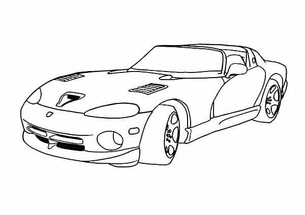 Dodge Charger Coloring Page Unique Charger Coloring Pages At Getcolorings Cars Coloring Pages Dodge Viper Dodge Charger