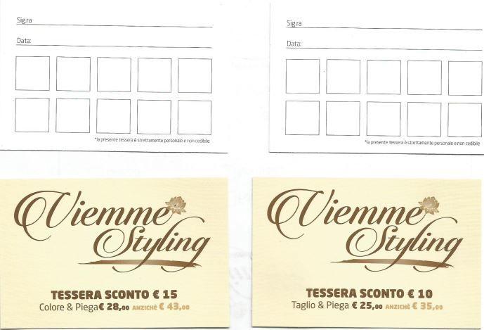 Nuova offerta: Tessera sconto su taglio, piega e colore - Milano