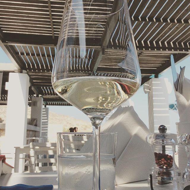 A glass of #wine..! #SummerTime #Moments #AnemiHotel #Folegandros Photo credits: @emilycbrighton