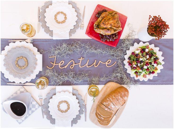 Festive table decor | I Love Pretoria
