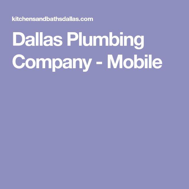 Dallas Plumbing Company - Mobile