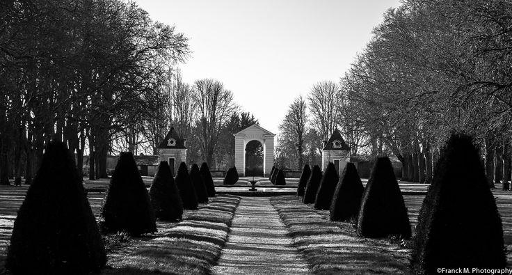 Château de Richelieu. Le portail d'honneur vu du parc, 2015. Photo: Frank M.