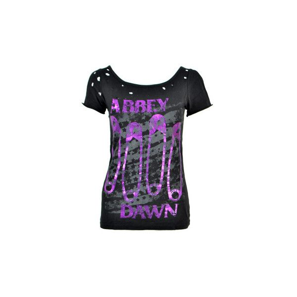 Abbey Dawn Breakdown t shirt - Avril Lavigne clothing - Abbey Dawn... ($38) ❤ liked on Polyvore