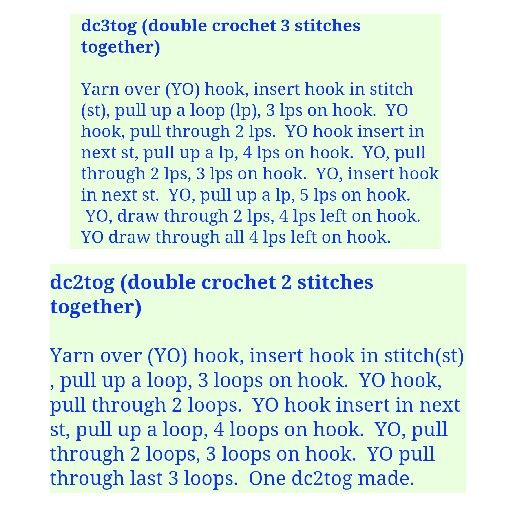 Crochet Stitch Guide Dc2tog : ... Crochet on Pinterest Crochet diagram, Stitches and Baby booties