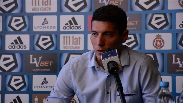 Zoran Arsenić piłkarzem Wisły Kraków [Konferencja]. 2017-06-20