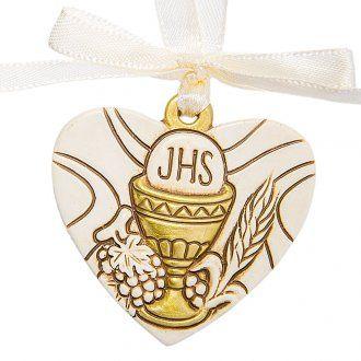 Heart pendant Chalice 4cm | online sales on HOLYART.co.uk