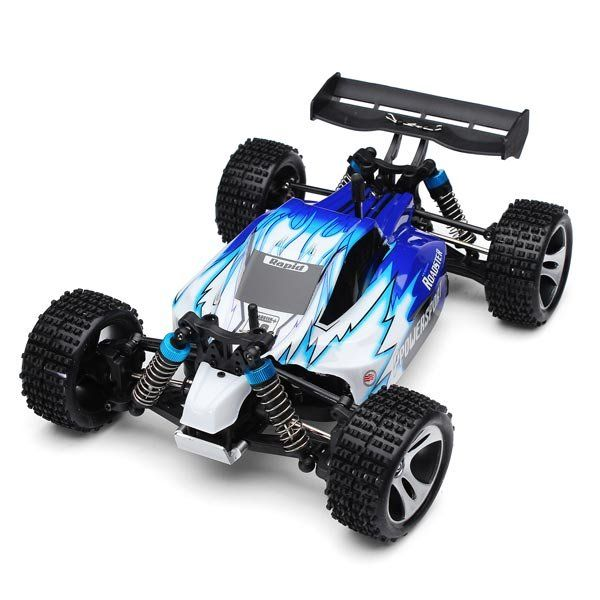 Wltoys A959 Rc Car 1/18 2.4Gh 4WD Off-Road Buggy - US$56.94