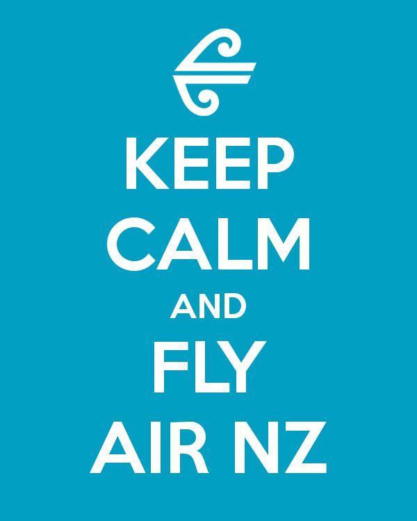 Koru Keep Calm & Fly Air NZ