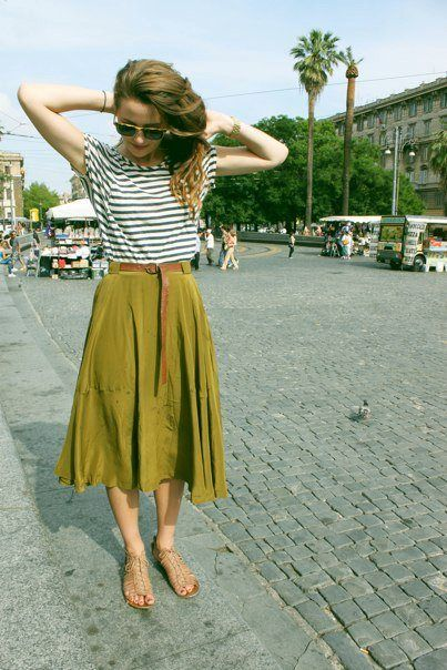 Perfect outfit - via The Traveling Camera