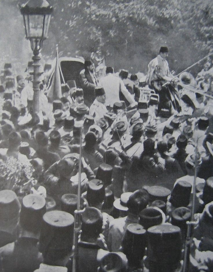 Sultan Abdulhamid II, Istanbul, 1908