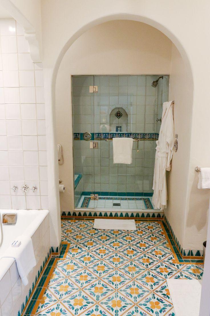 The gorgeous bathroom at Four Seasons Resort The Biltmore, Santa Barbara