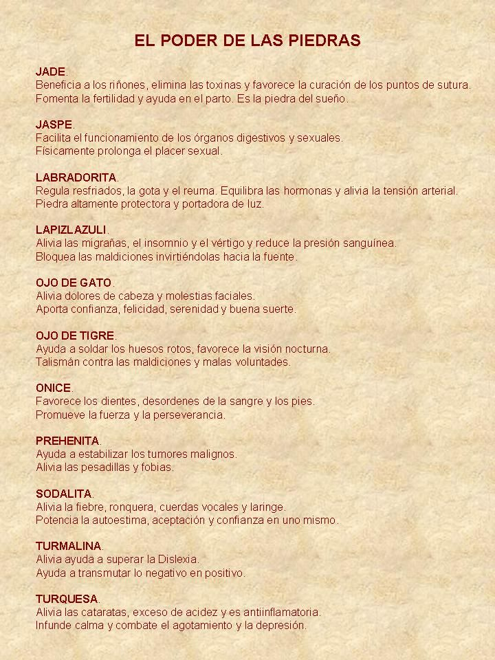 Cañadas & Vega | El poder de las Piedras