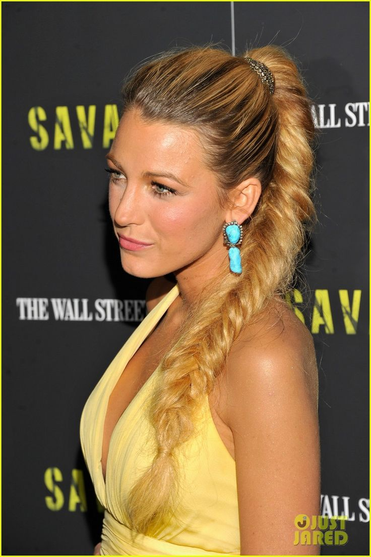 Making the canary sing: Blake Lively (in a canary yellow chiffon gown
