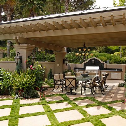 San Diego Home Enclosed Outdoor Kitchen Design Ideas, Pictures, Remodel, and Decor - page 3